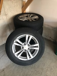 4 Chevrolet Equinox Rims with Michelin Tires TORONTO