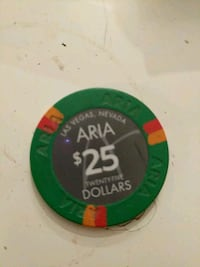 Authentic $25 dollar chip  Burnaby, V5H 2P2