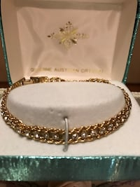 Pretty Genuine Austrian Crystal gold bracelet Gainesville, 20155