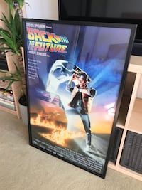 Back to the future poster framed Glendale, 91202