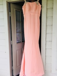 women's pink sleeveless dress Houston, 77083