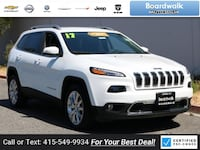 2017 Jeep Cherokee Limited Redwood City, 94063