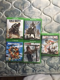 Xbox one games 3$ each or 10$ for all  Albany, 31705