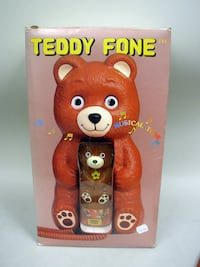 Teddy Fone by Telemania 1986 Lancaster