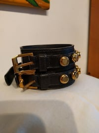 Ysl brass leather cuff Gatineau, J8X 3K8