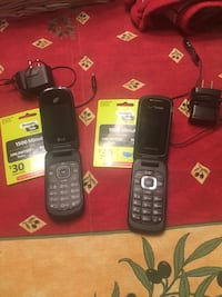 Two phones, chargers, new minutes cards!!! Virginia Beach, 23451