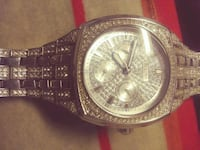 MENS GOLD/DIAMOND BULOVA WATCH Edmonton