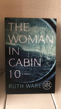 The Woman in Cabin 10 by Ruth Ware book 24 mi