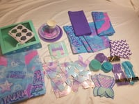 ♡Mermaid Party Supplies♡ Langley