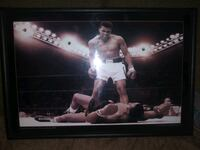 Muhammad Ali picture that lights up 12 x 18 in