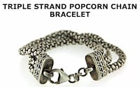 Silpada triple thick stand beautiful bracelet Silver Spring, 20904