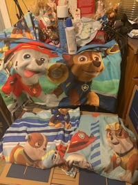 Paw patrol twin fitted , sheet , 1 pillowcase