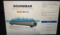 15.7 in sound bar bluetooth speaker home theatre with subwoofers