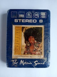 Jermaine Jackson The Motown Sound 8-Track Cartridge New, Untested, & Sealed Baltimore