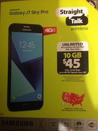 Black samsung galaxy j7 prime with box High Point, 27263