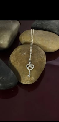 Sterling Silver CZ Key Necklace  Fort Worth, 76116