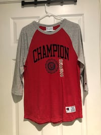 Men's Red Champion Raglan Shirt  Bethlehem, 18018