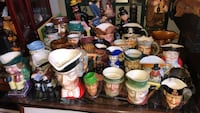 Large collection of creamers