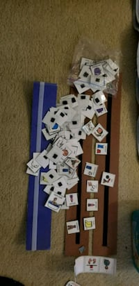 Child visual aids - 3 stripes and laminated cards. Edmonton, T6M 2G7