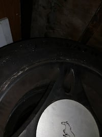 Tires with rims 215/60/15