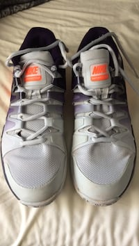 pair of gray Nike running shoes Oxnard, 93033