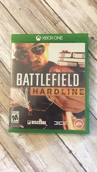 Battlefield Hardline Xbox One game case 2203 mi