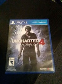 Uncharted 4 PS4 game case Jurupa Valley