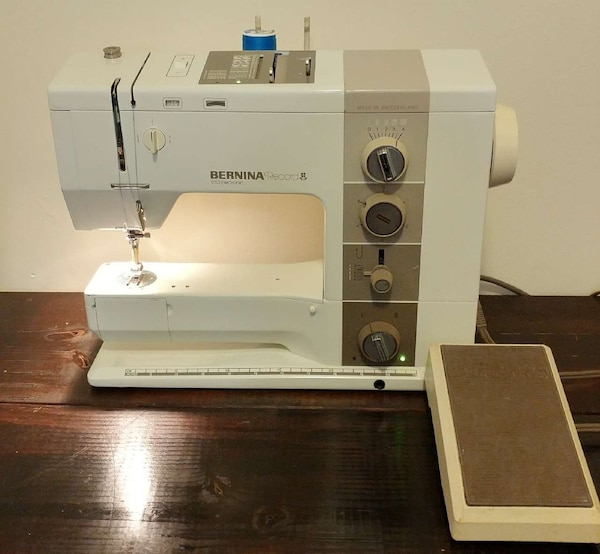 Used Bernina Record 40 Electronic Sewing Machine For Sale In Topeka Awesome Bernina Used Sewing Machines For Sale