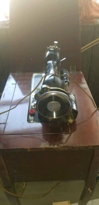 Antique Kingston sewing machine