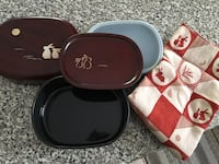 Traditional bento set from Japan. Never used. Toronto, M5M 3C3