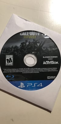 WW2 PS4 GAME Essex Junction, 05452