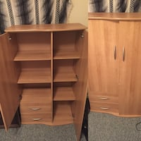 Wood clothing dresser 1956 km