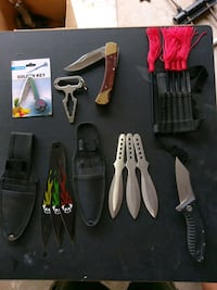 Throwing knives and misc. Kailua, 96734