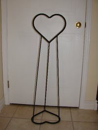 "Blanket Holder - Wrought Iron 39"" tall Kitchener, ON, Canada"