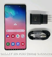 Galaxy S10 Plus (128GB) Factory-UNLOCKED (Like-New) White Arlington