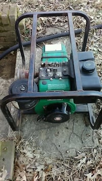 green and black portable generator Clinton, 20735