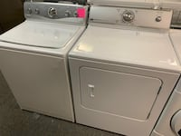 Maytag top load washer dryer set with warranty  29 mi
