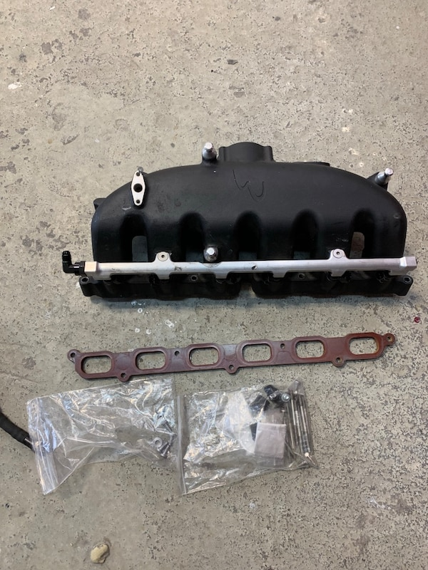 Eos port injection manifold , fuel lines, and controller