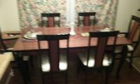 brown wooden rectangular table Chicago, 60602