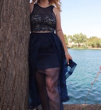 Two-Piece Prom Dress / High-Low / Size 9 Chandler, 85224