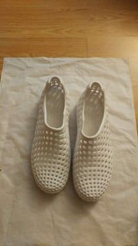 grey perforated rubber clogs Vancouver, V6G 2M3
