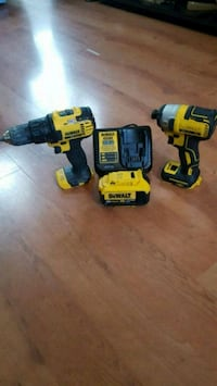 ~DEWALT BRUSHLESS POWER TOOL SET CORDLESS~