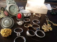 More jewelry rings and necklaces Lubbock, 79423