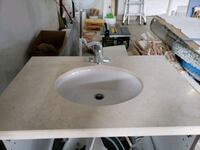 32.5 inch granite countertop with sink and faucet  Whitchurch-Stouffville, L4A 0T1