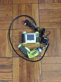 Inspection camera and small Ryobi drill. They are in good condition Arlington, 22204