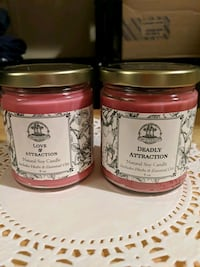 2 Natural Soy candles by Art of the Root Lansdowne, 21227