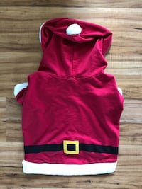 Pet Christmas Red Santa Outfit size Large Dillsburg, 17019