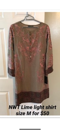 women's brown and black long sleeve dress Mississauga, L5C 1N9