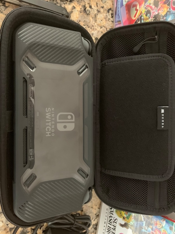 Nintendo Switch- Mario Kart - Smash Bros - Protective Case and Carrying Case - Screen Protector 902c9794-f239-4490-9e51-dd13ab87170d