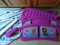 Frozen toddler bed w used mattress Syracuse
